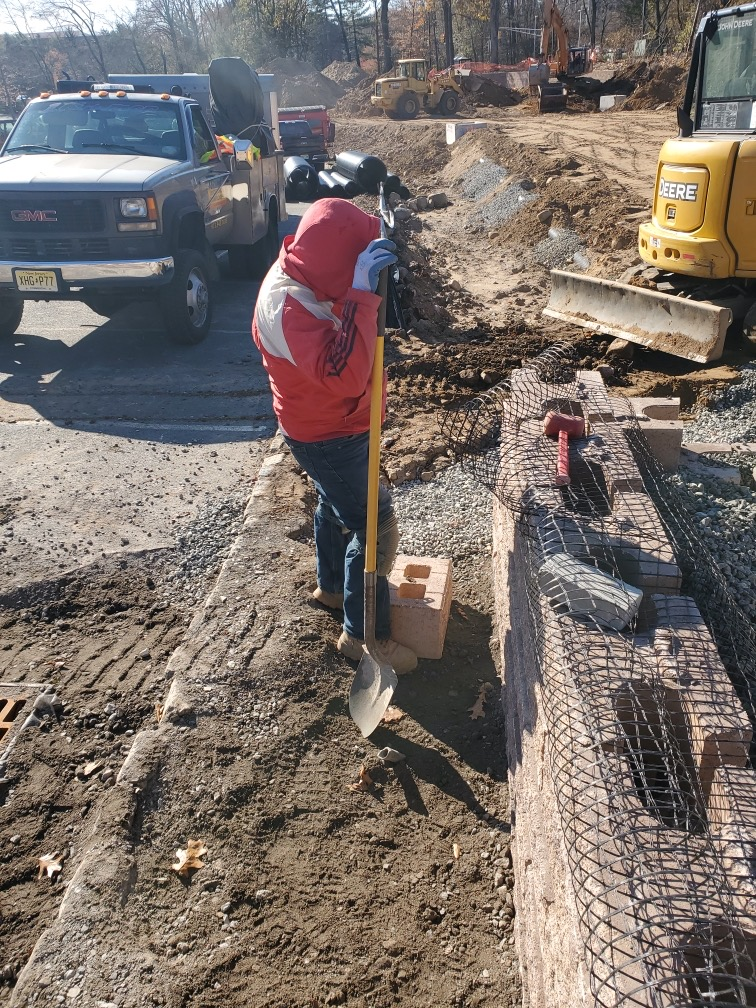 Building a Wall in Parsippany